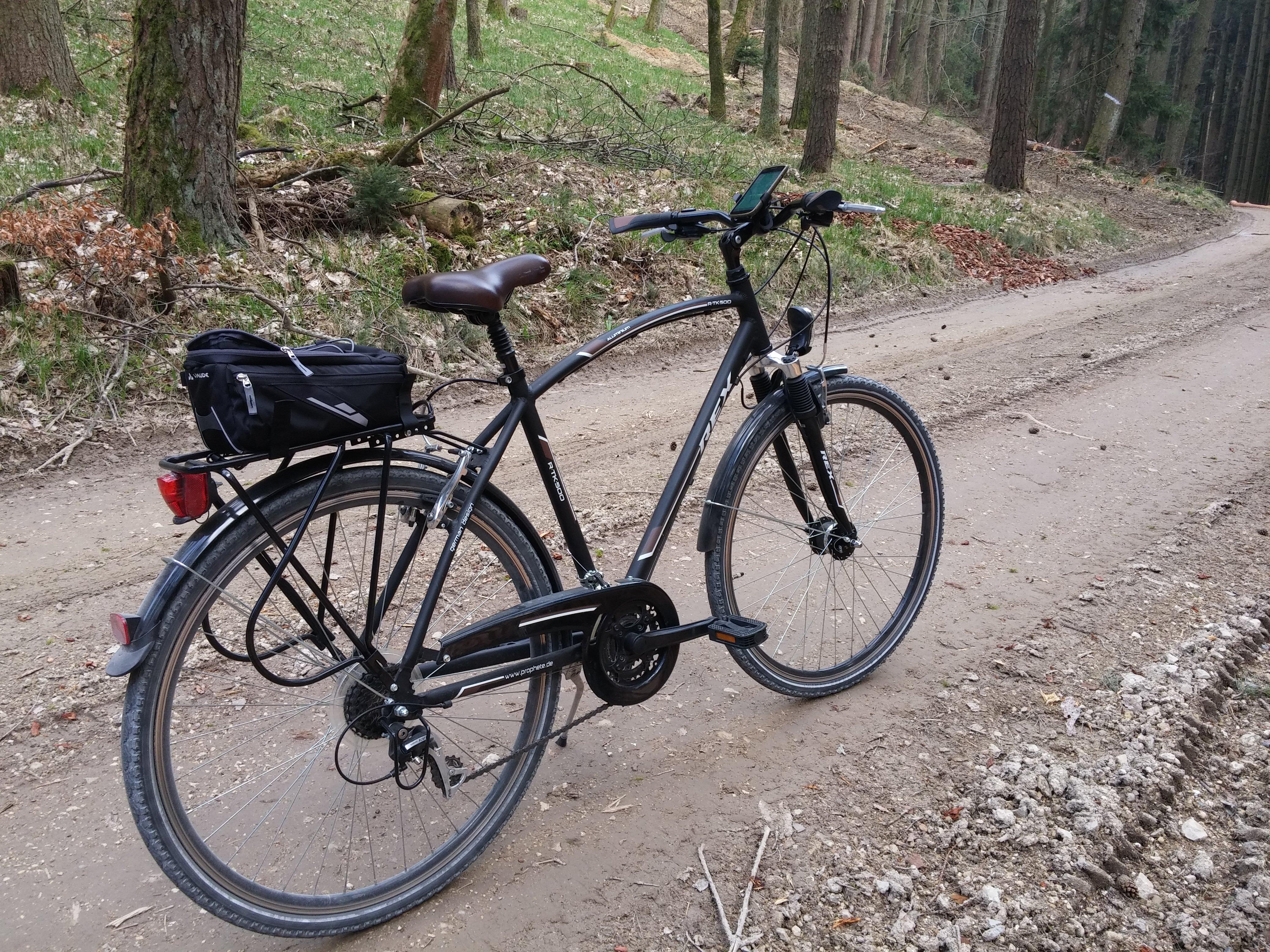 Fahrradtour im April 2017 durch die Stauden (1)