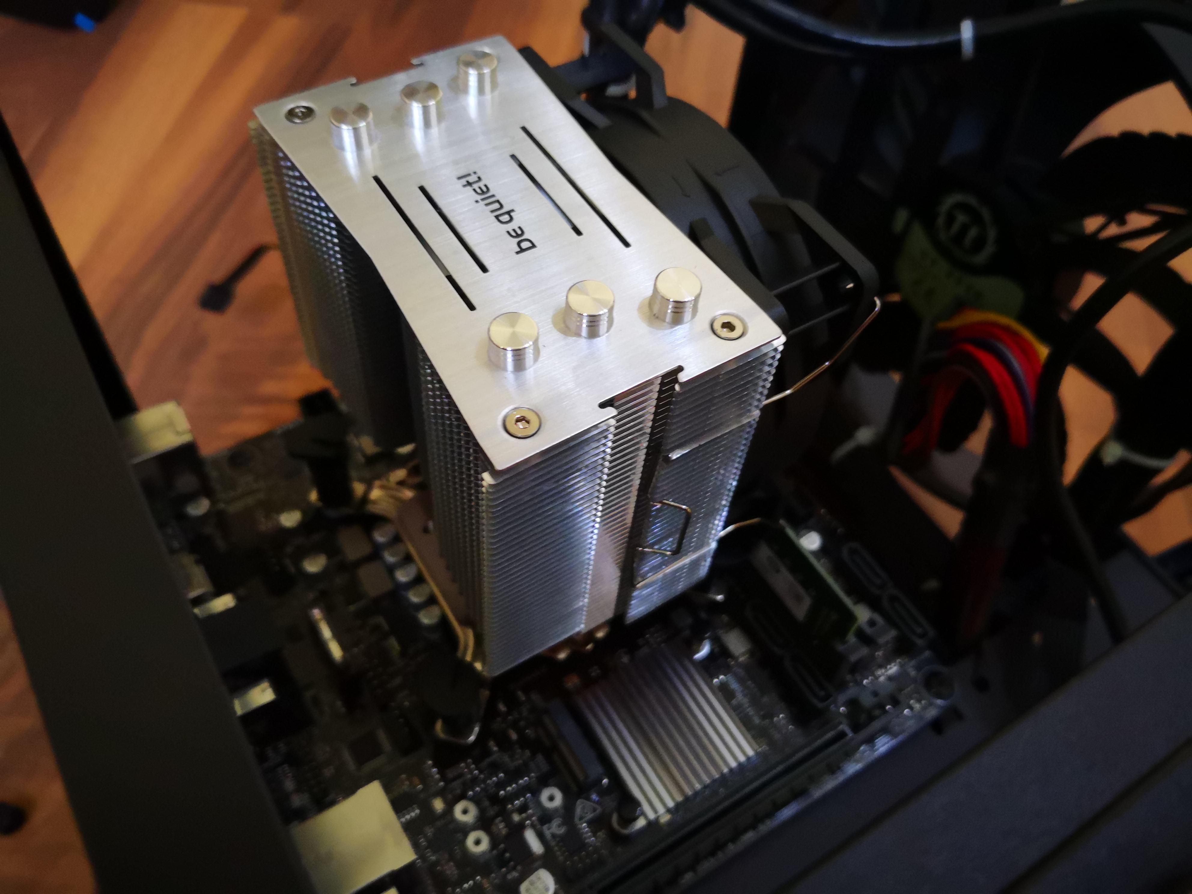 Das ASUS Prime H310I-PLUS R2.0/CSM Mainboard verbaut